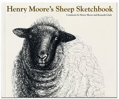"Cover image of ""Henry Moore's Sheep Sketchbook"""
