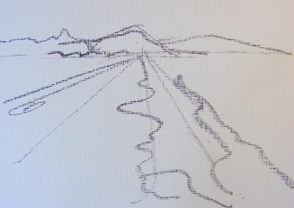 Sketch for Bog painting