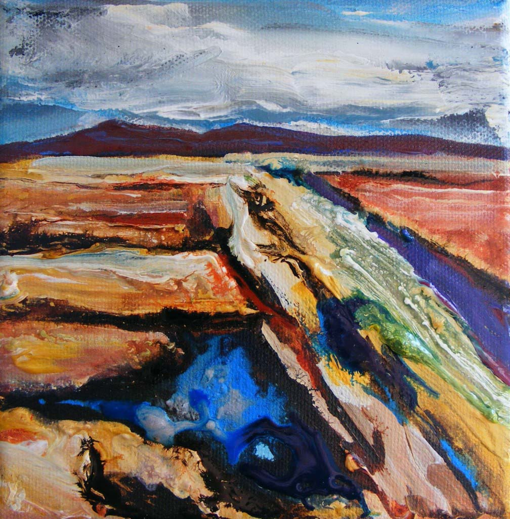 Bog Landscape, unfinished