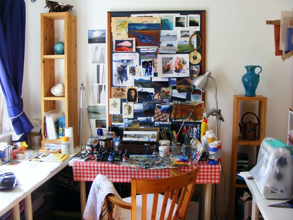 Photo of Deborah's Workspace