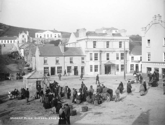 Photo of Clifden in the 19th Century