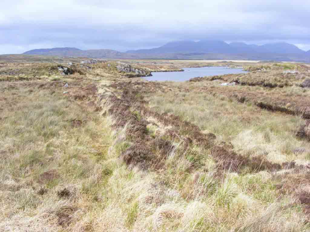 Photo of bog between Clifden and ROundstone