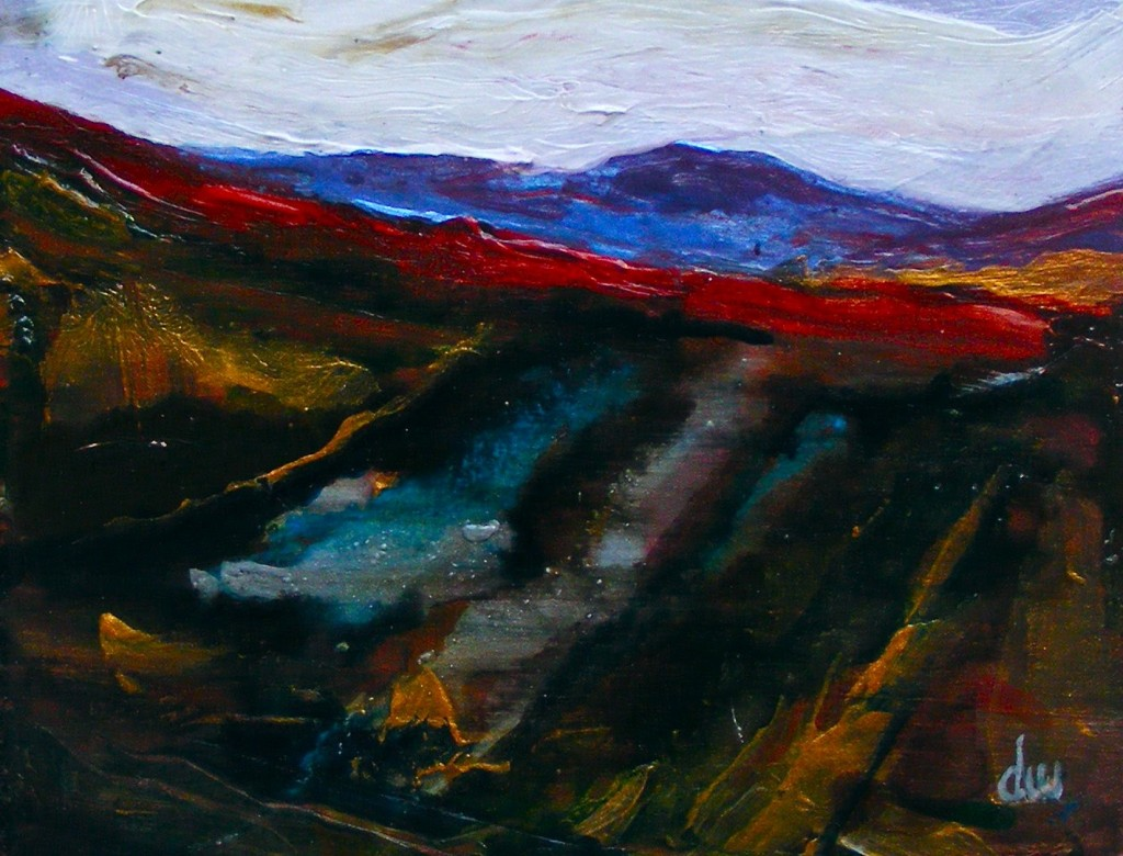 Painting of bog