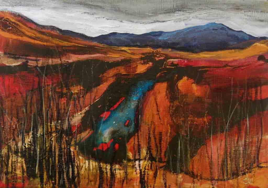Bogland painting 2