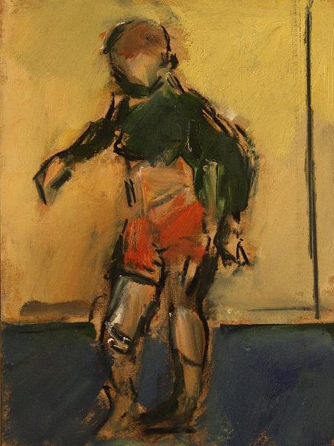 Painting 1 by Ghislaine Howard