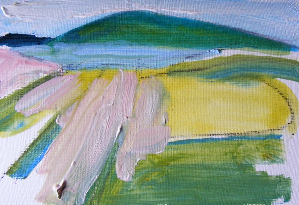 Oughterard painting, stage 2