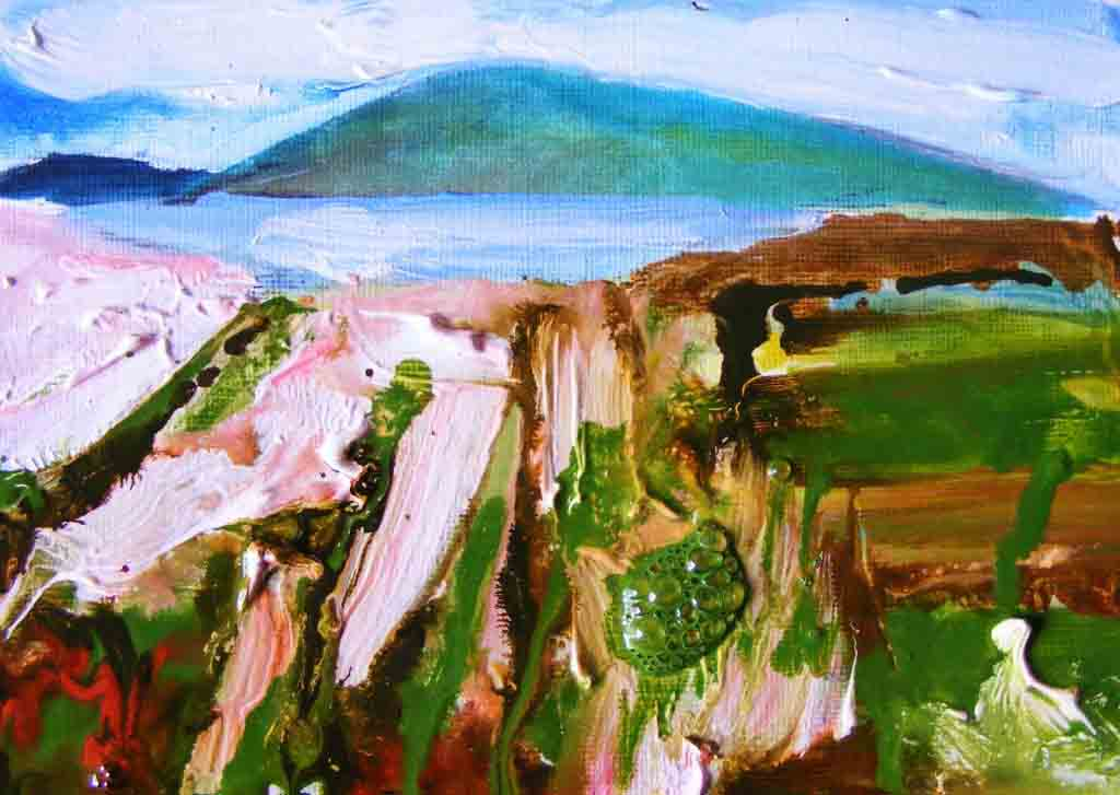 Oughterard painting, stage 3