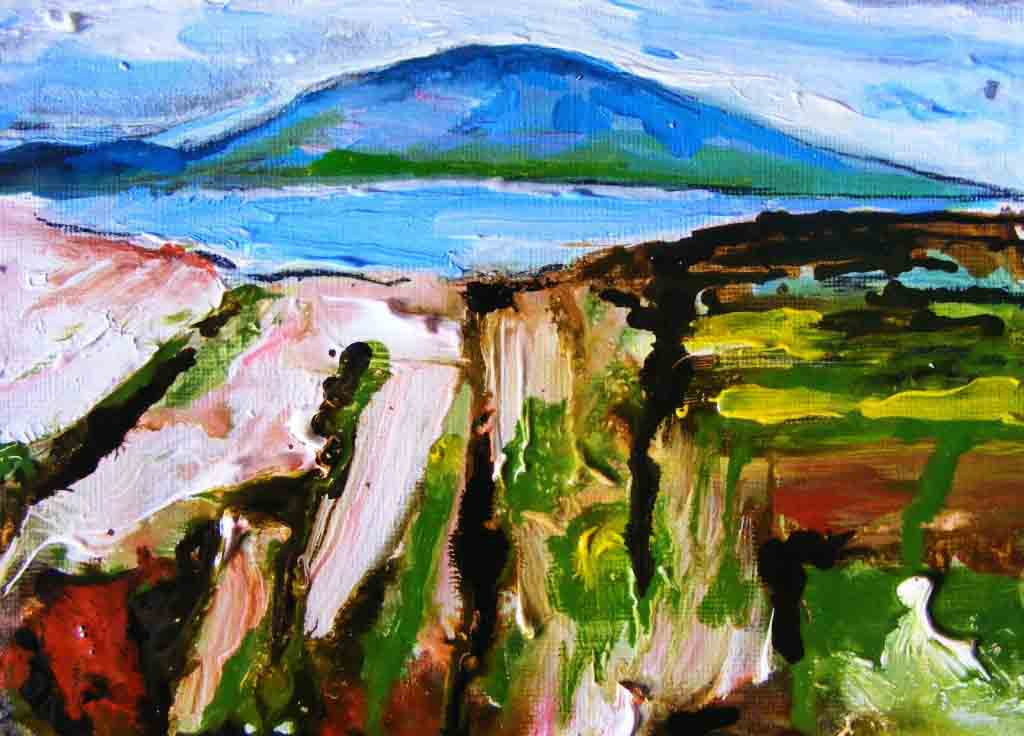 Oughterard painting, stage 4