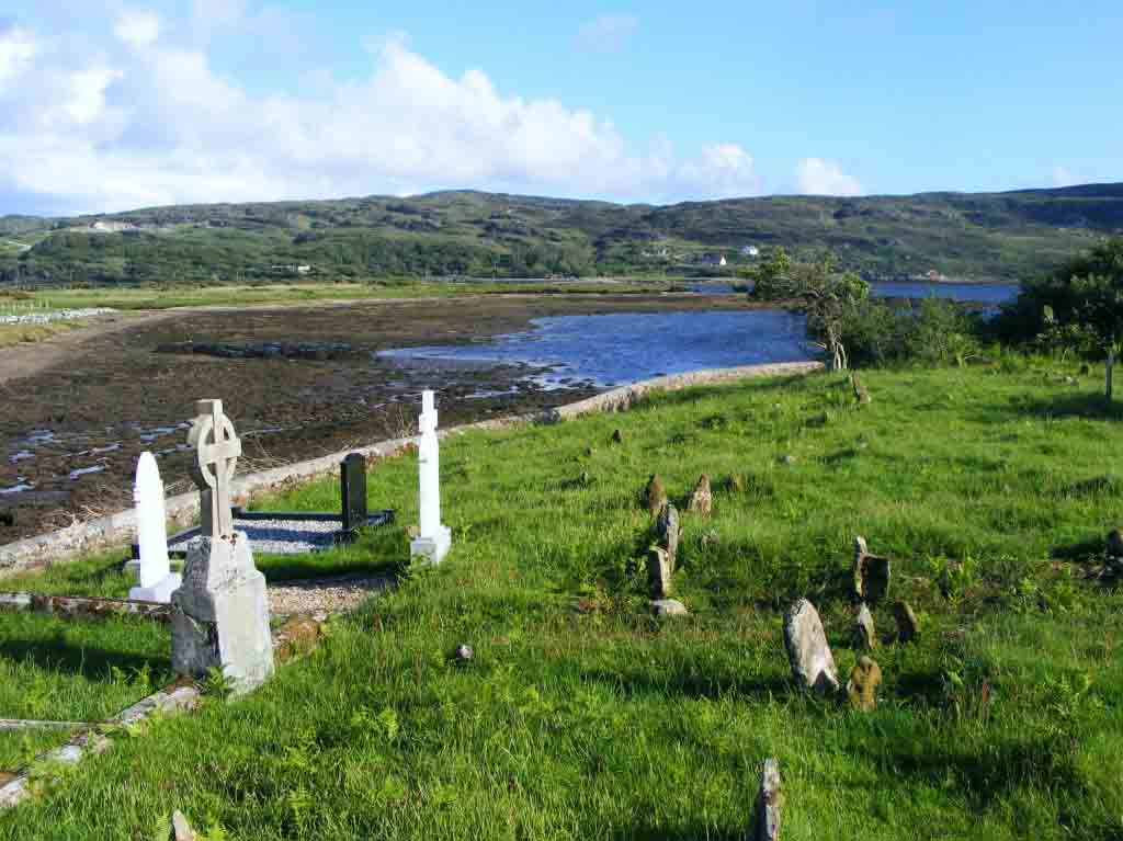 Photograph of Streamstown Graveyard