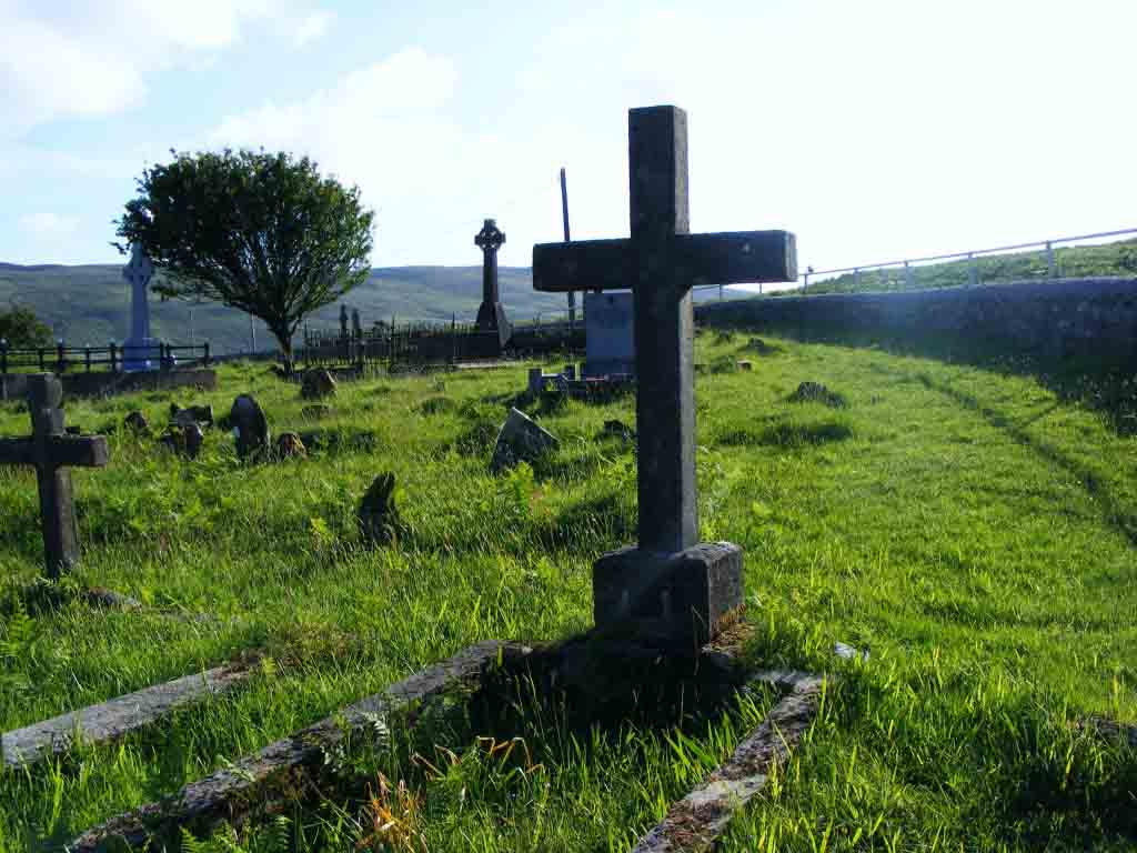 Photograph of Graves at Streamstown