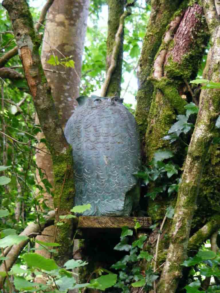 Photo of Owl Sculpture at Brigit's Garden