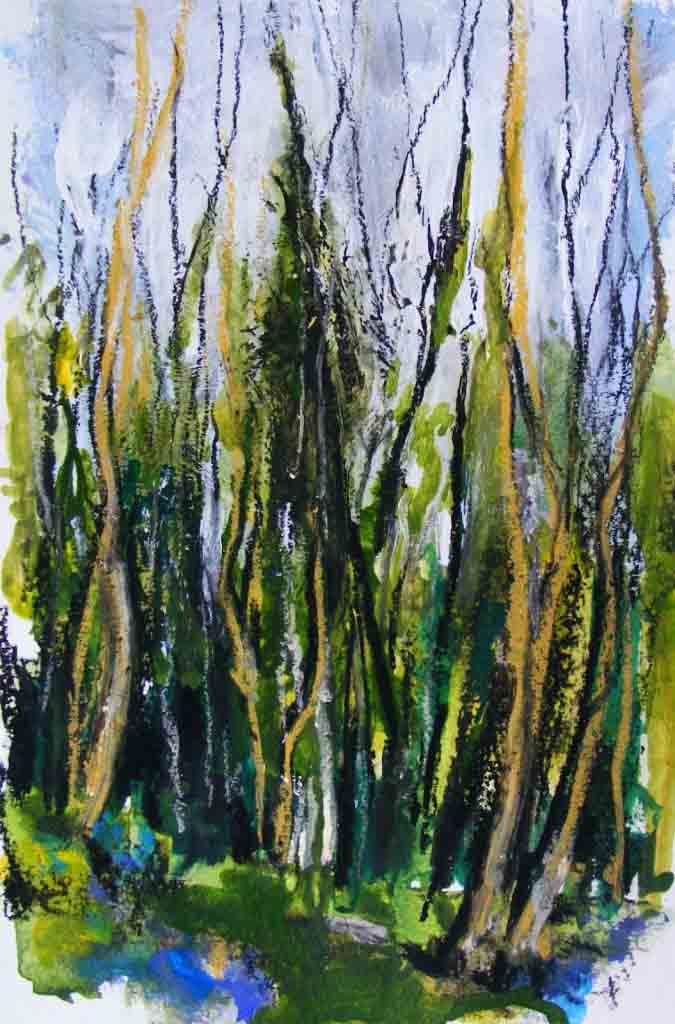 Woodland painting 2