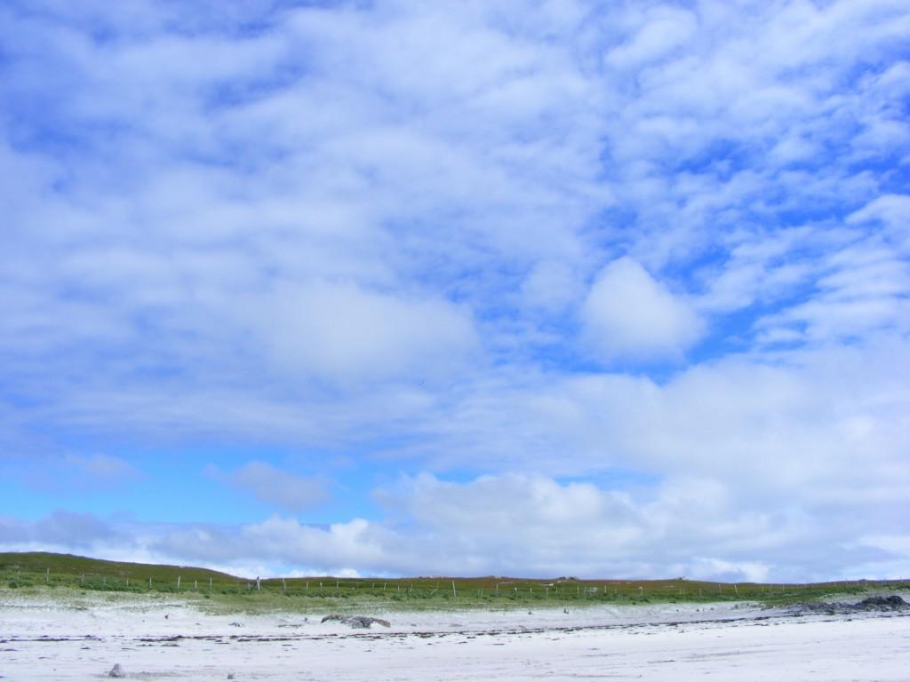 Skies at Aillebrack beach