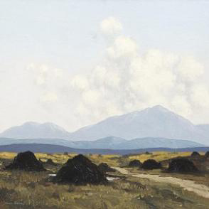 Bog Road by Paul Henry