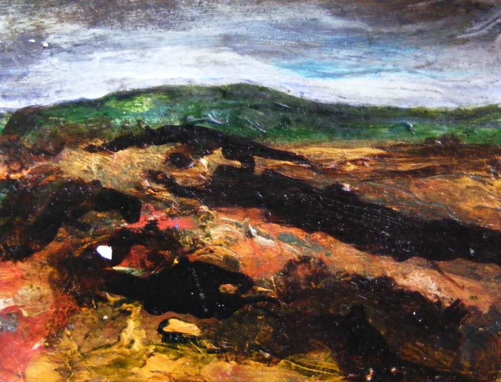 Found painting by Deborah Watkins
