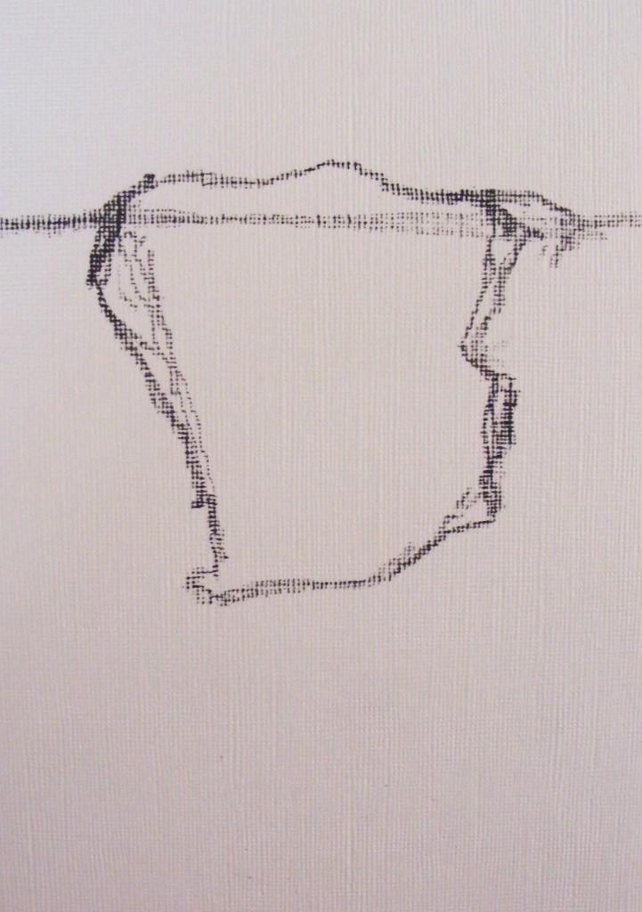 Outline of Island shape by Deborah Watkins