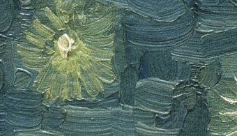 Close up of Starry Night by Vincent Van Gogh