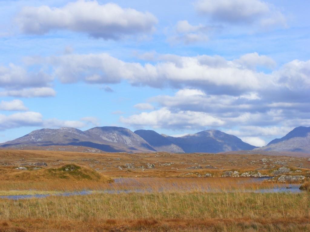 Photograph of Roundstone bog by Deborah Watkins