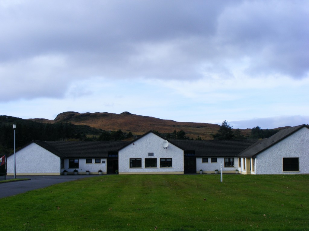 Buttermilk hill from Clifden National School