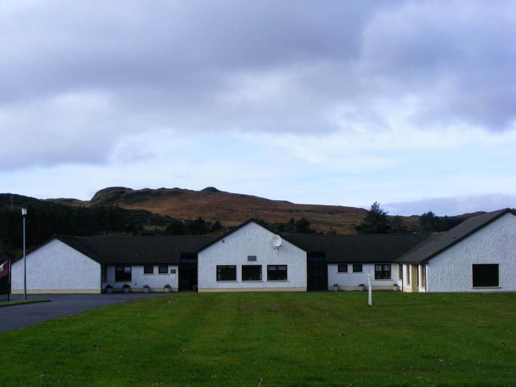 Buttermilk hill from Clifden National School
