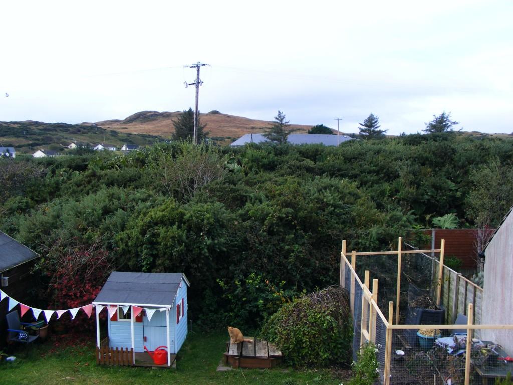 Buttermilk hill from my top window
