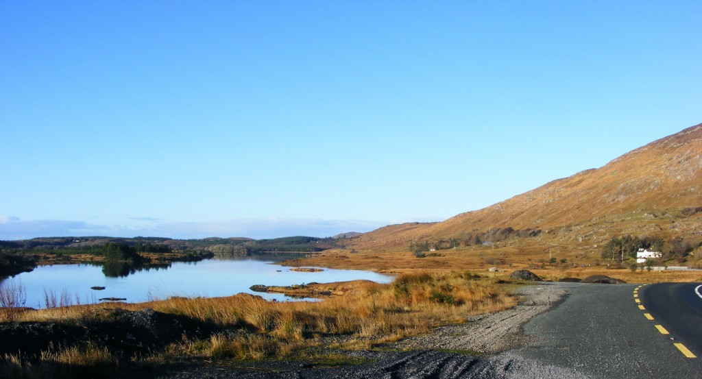 N59 Road looking back towards Clifden