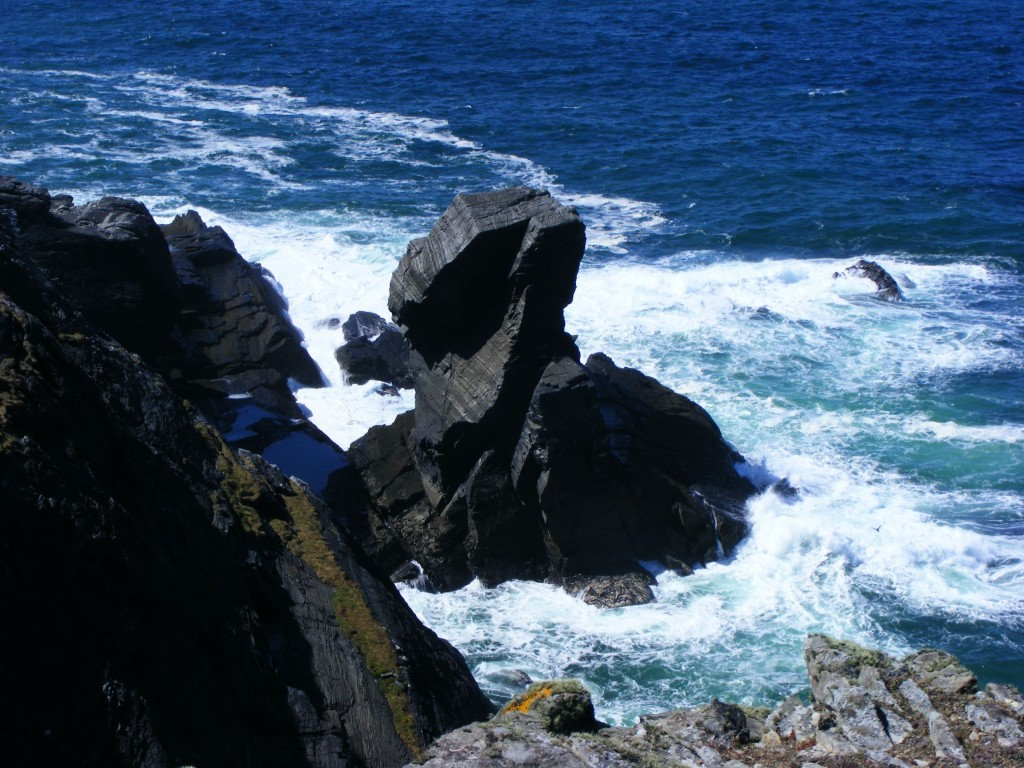 sea stacks at Inishturk