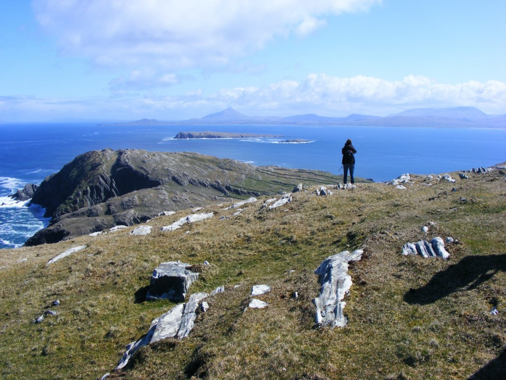 The landscape at Inishturk