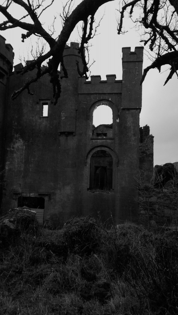 Clifden castle from another angle