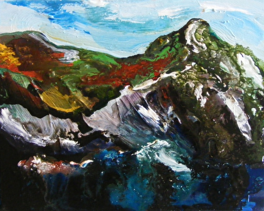 Cliff by Deborah Watkins