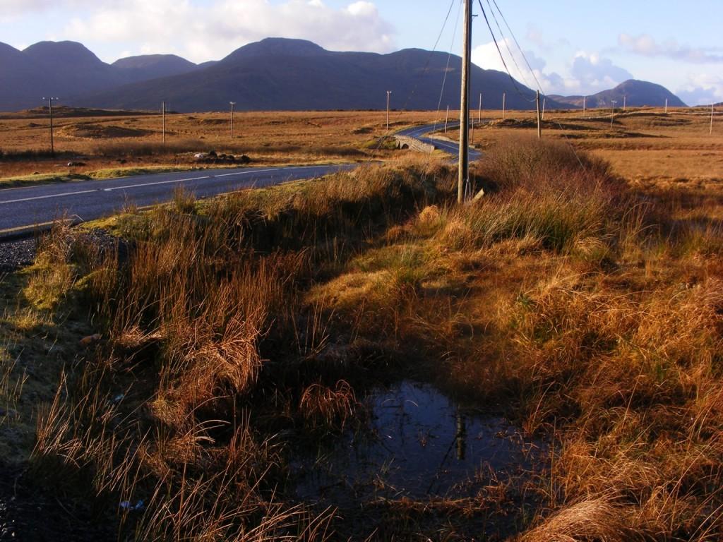 Road near Killary by Deborah Watkins