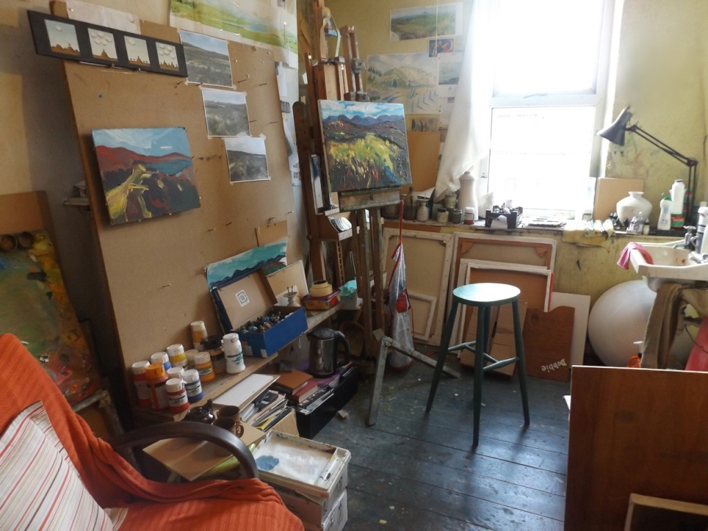 My new studio space